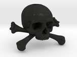 35mm 1.4in Keychain Skull & Bones Bead