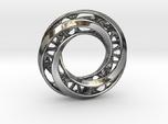 Mobius Ring Pendant v4