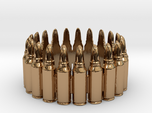 7.62x39 Bullet Round Ring #1, Ring Size 10