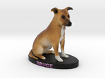 Custom Dog Figurine - Bruce