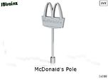 McDonalds pole-5cm (n-scale)