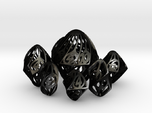 Twisty Spindle Dice Set with Decader