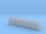 Metal Door in HO Scale - set of 16