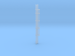 'N-Scale' - 30' Caged Ladder