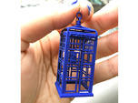 Police Box Ornament, Decoration, or even Necklace!