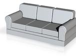 Miniature 1:48 Sofa