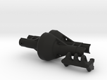 Axial SCX10 narrow axle case with 4-link holder