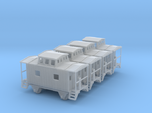 Bobber Caboose - Set of 4 - Zscale