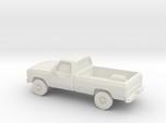 1/87 1991 Dodge Ram Single Cab