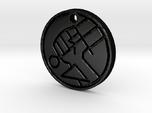 Hellboy BPRD Logo Necklace Replica