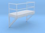 'HO Scale' - 8' W - Ladder Platform