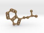 DMT (N,N-Dimethyltryptamine) Keychain Necklace