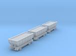 T-gauge 3 Hoppers - Custom Wheels, see description