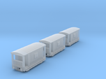 T-gauge 3 Guardvans  - Custom Wheels, see descript