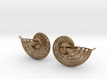 Nautilus Earring Pair (2) with attachment loop