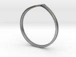 Ring Model B - Size 6 - Silver