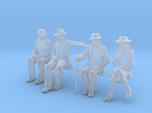 HO seated Figures