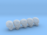 Undead, 5x Skull Conversion Kit (28mm Figures) 2