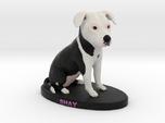 Custom Dog Figurine - Shay