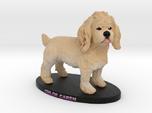 Custom Dog Figurine - Chloe