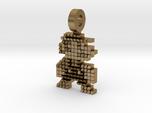 Mario 8-bit Pendant/Key-ring
