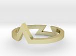 Triangle Illusion Ring