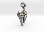 Cat Necklace Charm