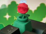 Piranha Plant Head Cherry MX Keycap