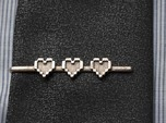 Legend of Zelda: Pixel Heart Tie Clip