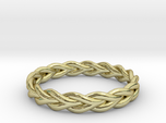 Ring of braided rope - size 7