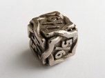 'Twined' Dice D6 Gaming Die Tarmogoyf P/T Version