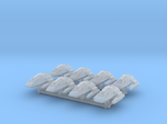 """1/1000 Scale Scampers """"Wave Riders"""" Pack"""