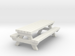 Picnic Table - Qty (1) HO 1:87 scale
