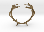 Red Deer Antler Necklace With Loops