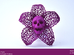 Skeletal Flower