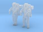 NASA Astronauts EMU 1:144