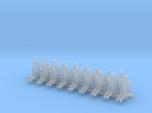 1/144 scale pilot figures