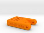 Imprenta3D Mistral mast track pedal raceboard
