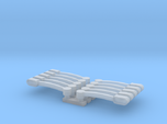 1/64 Flasher Bars Straight Ends Five pack