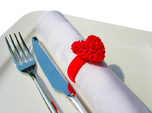 365 Hearts Napkin Ring
