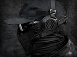 Ear Protection 2pc attaches to Airsoft Mesh Mask