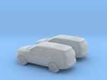 1/160 2X 2011 Ford Explorer