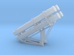 Harpoon missile launcher 4 pod 1/144