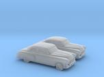 1/160 2X 1951 Pontiac Chieftan Coupe