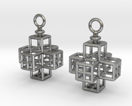 Cube-Cross Earrings