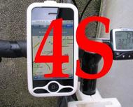 iPhone 4S bike mount assembly 1 1/4