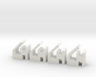 Quad 303 PCB Retaining Clips 4