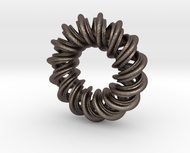 Charm Bead 2 strand mobius spiral