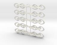 Mobius Strip Earrings - 5 pairs