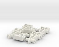 6 F1 Car Game Pieces